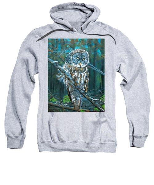 Great Grey Owl Sweatshirt