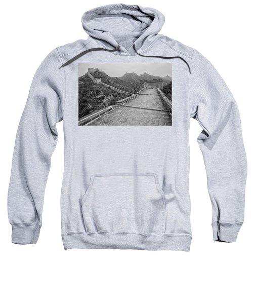 Sweatshirt featuring the photograph Great Wall 5, Jinshanling, 2016 by Hitendra SINKAR