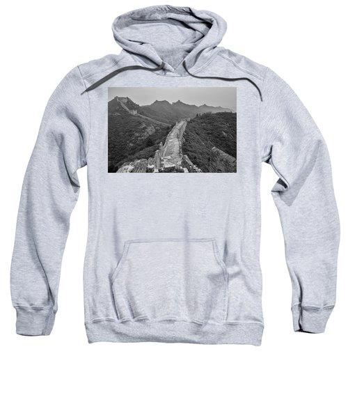 Sweatshirt featuring the photograph Great Wall 6, Jinshanling, 2016 by Hitendra SINKAR