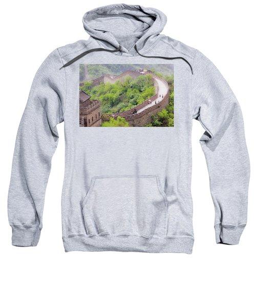 Great Wall At Badaling Sweatshirt