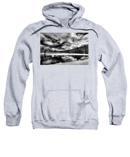 Sweatshirt featuring the photograph Green Bridge Solitude by David Patterson