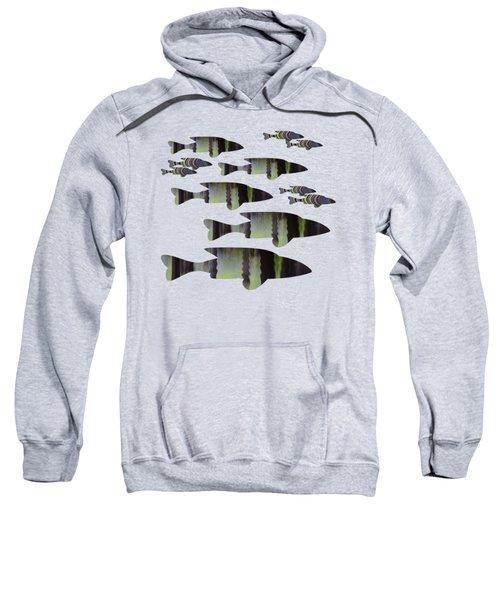Green Fish Sweatshirt