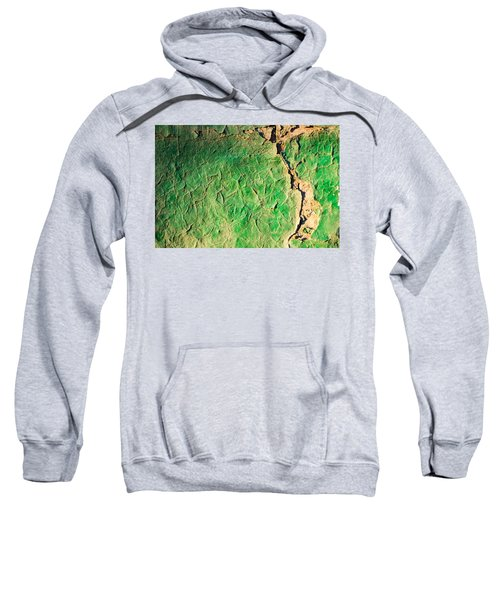 Green Flaking Brickwork Sweatshirt