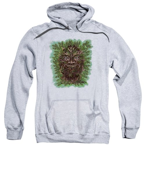 Green Man Of The Forest Sweatshirt