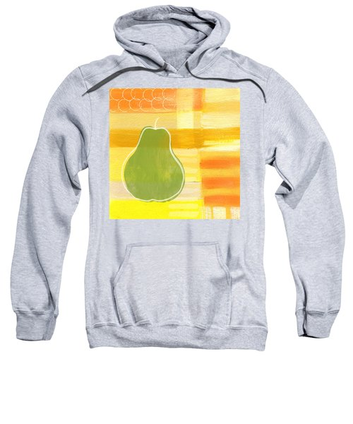 Green Pear- Art By Linda Woods Sweatshirt