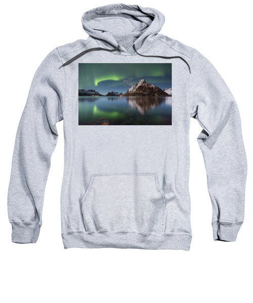 Green Reflection Sweatshirt