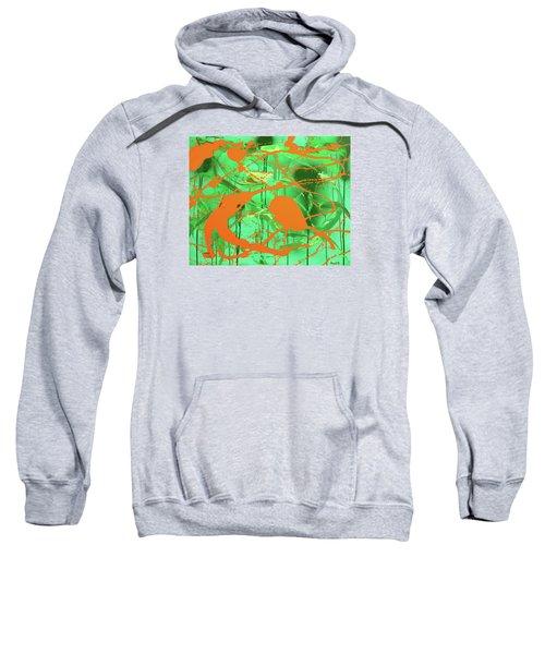 Green Spill Sweatshirt