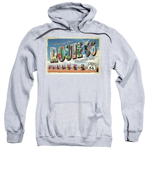 Greetings From Route 66 Sweatshirt