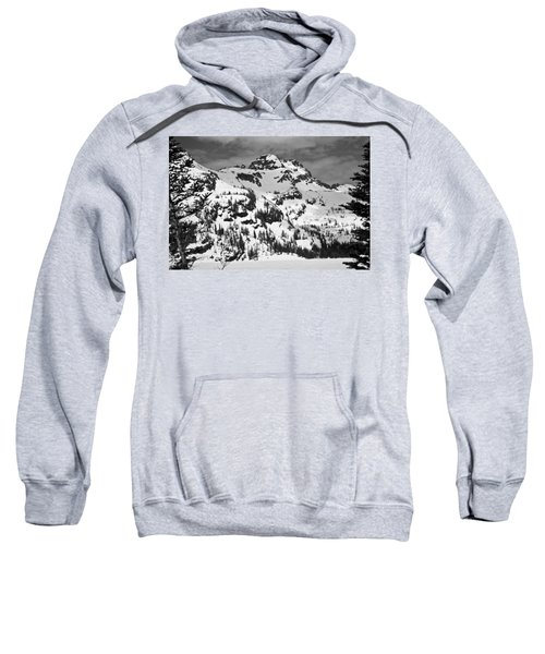 Grey Wolf Peak, Mission Mountains Sweatshirt