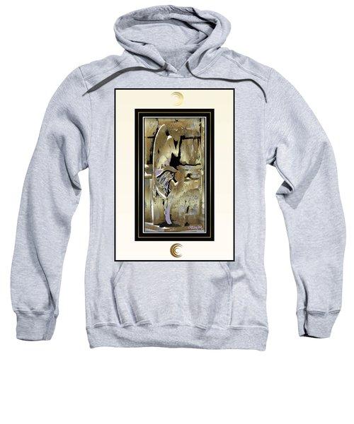 Grief Angel - Light Border Sweatshirt