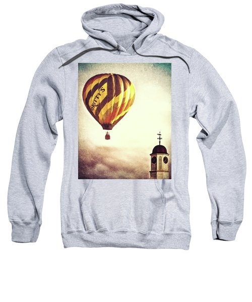 Gritty Mcduffs Hot Air Balloon Sweatshirt by Bob Orsillo