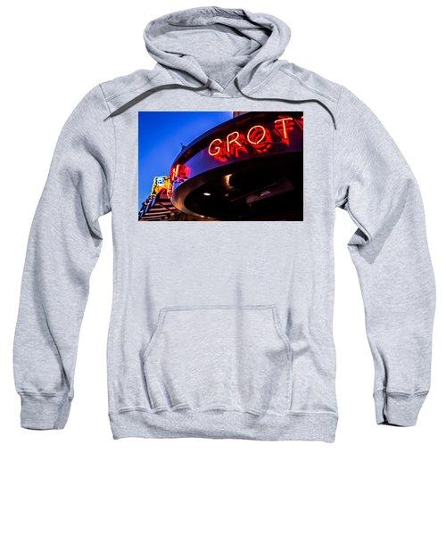 Grotto - Night View Sweatshirt