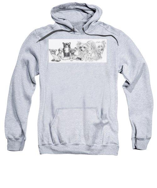 The Chinese Crested And Powderpuff Sweatshirt
