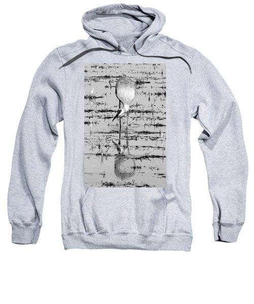 Grus Canadensis 2 Sweatshirt