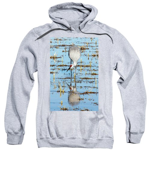 Grus Canadensis I Sweatshirt