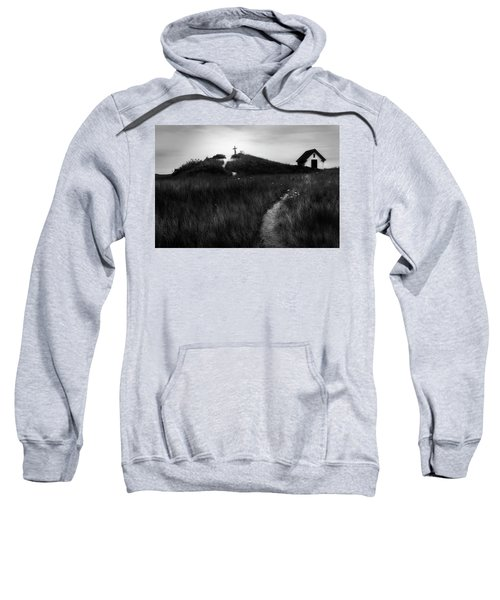 Sweatshirt featuring the photograph Guiding Light by Bill Wakeley