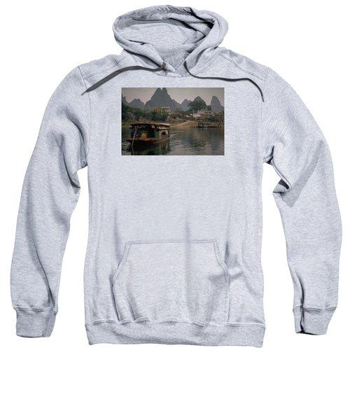 Guilin Limestone Peaks Sweatshirt by Travel Pics