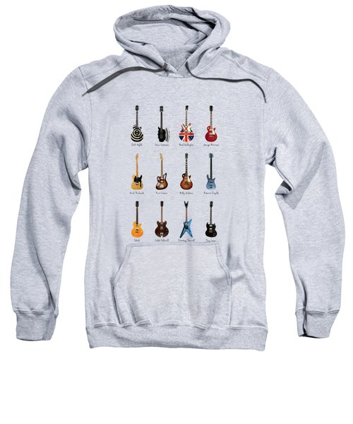 Guitar Icons No2 Sweatshirt