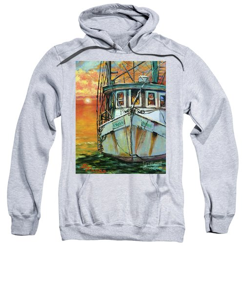 Gulf Coast Shrimper Sweatshirt