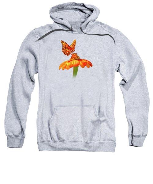 Gulf Fritillary Landing Sweatshirt