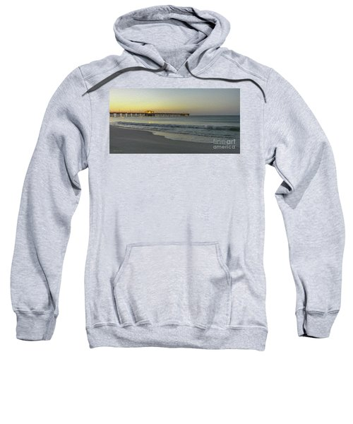 Gulf Shores Alabama Fishing Pier Digital Painting A82518 Sweatshirt