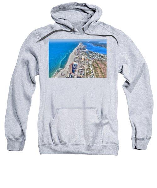 Gulf Shores Beach Looking W Sweatshirt
