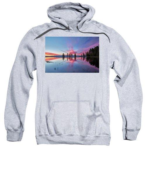 Gull Point At Sunrise Sweatshirt