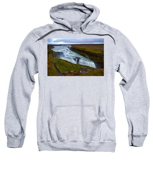 Gullfoss Waterfall #2 - Iceland Sweatshirt