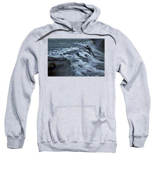 Gullfoss Waterfall #6 - Iceland Sweatshirt