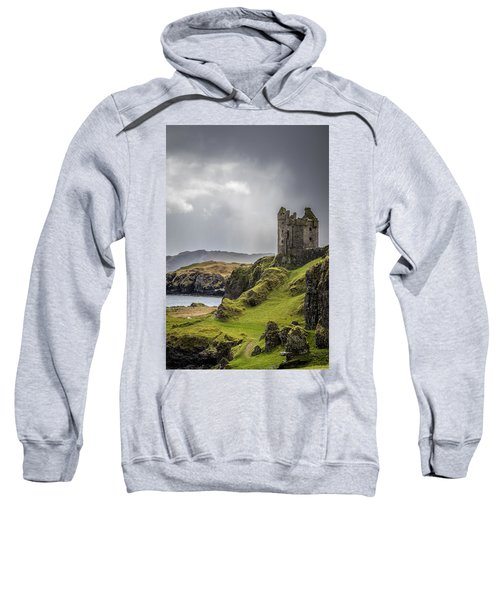 Gylen Castle On Kerrera In Scotland Sweatshirt