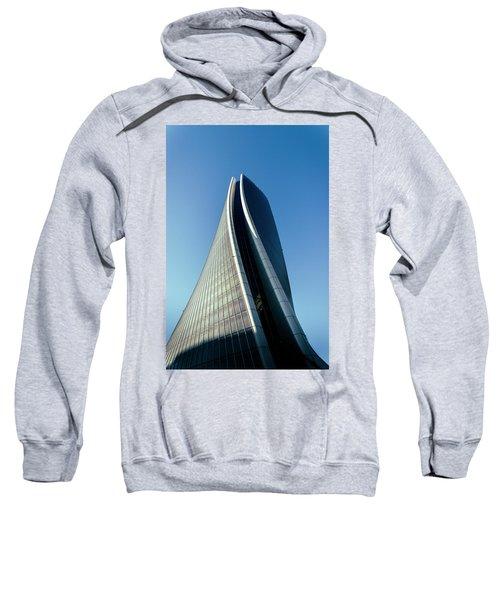 Hadid Tower, Milan, Italy Sweatshirt