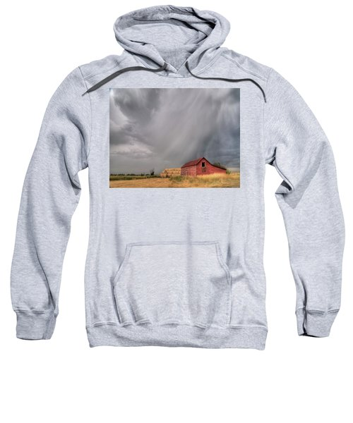 Hail Shaft And Montana Barn Sweatshirt