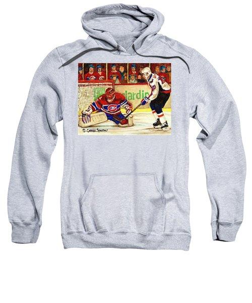 Halak Makes Another Save Sweatshirt