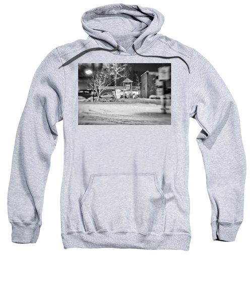 Hale Barns Square In The Snow Sweatshirt