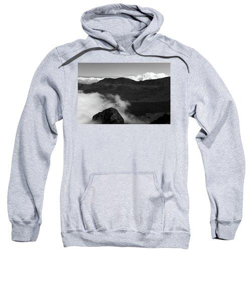 Haleakala B/w Sweatshirt