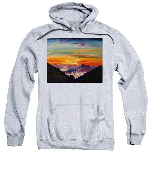 Haleakala Volcano Sunrise In Maui      101 Sweatshirt