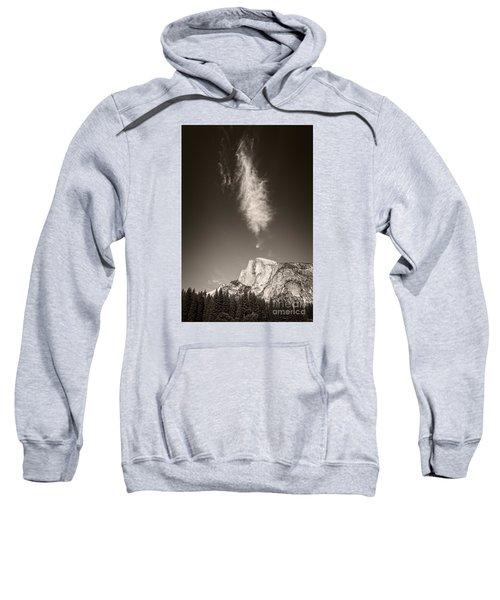 Half Dome And Cloud Sweatshirt