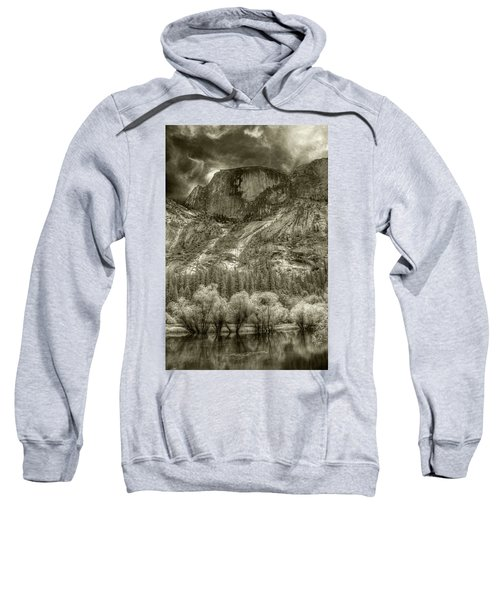 Half Dome Over Mirror Lake Sweatshirt