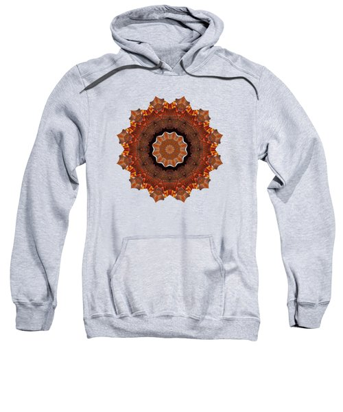 Halloween Kaleidoscope Sliver2-235 Sweatshirt