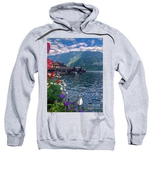 Hallstatt Swan Sweatshirt