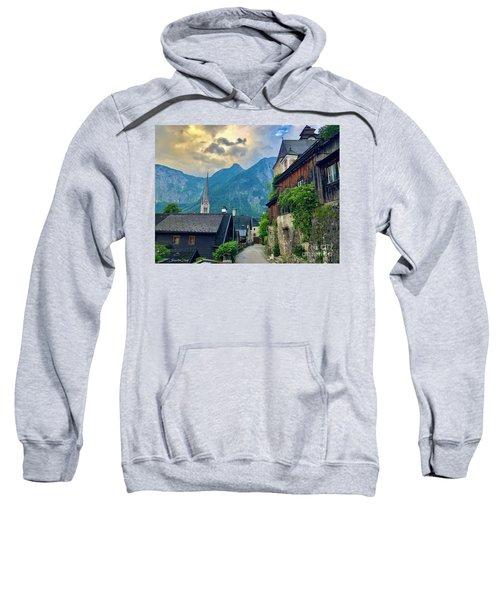 Hallstatt Village Stroll Sweatshirt