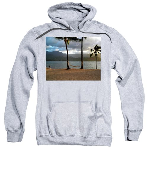 Hammock At Hanalei Bay Sweatshirt