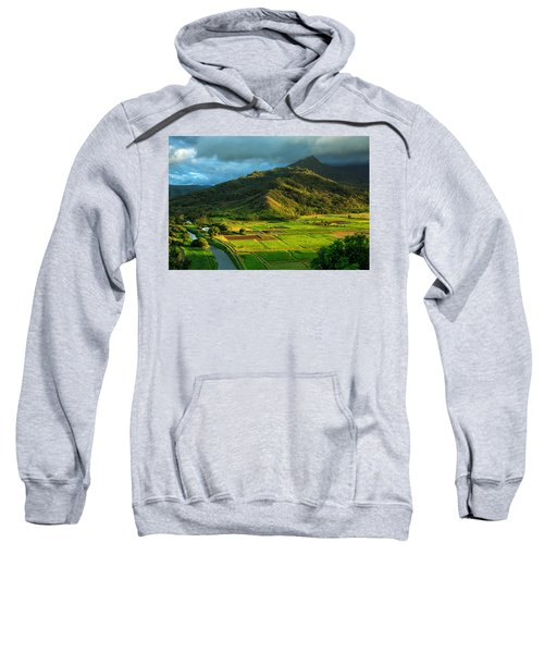 Hanalei Valley Taro Fields Sweatshirt