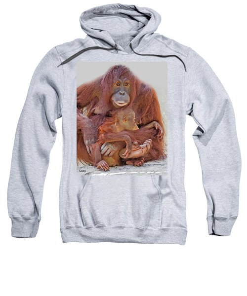 Hands And Feet Sweatshirt
