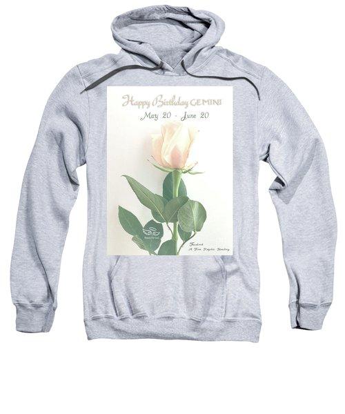Happy Birthday Gemini Sweatshirt