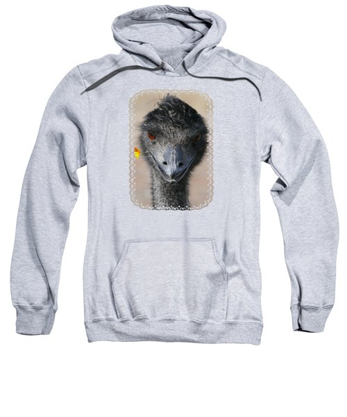Happy Emu Sweatshirt by Ivana Westin