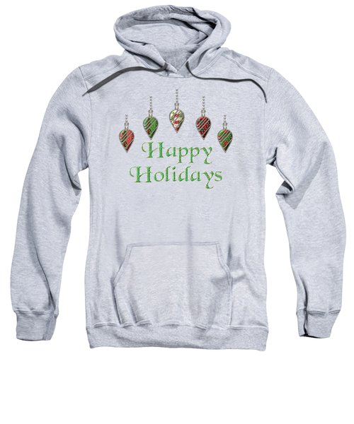 Happy Holidays Merry Christmas Sweatshirt