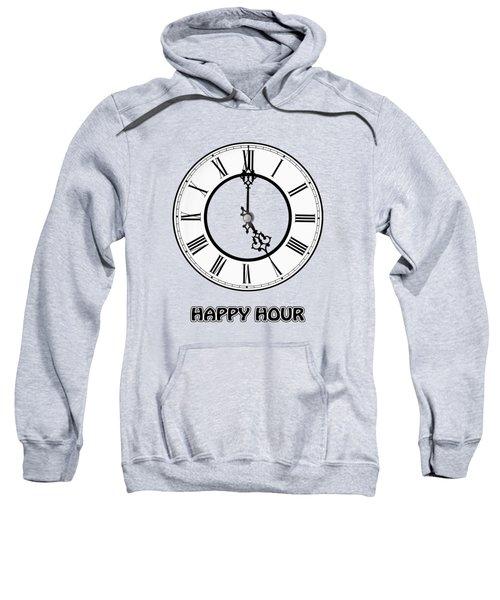 Happy Hour - Green Sweatshirt
