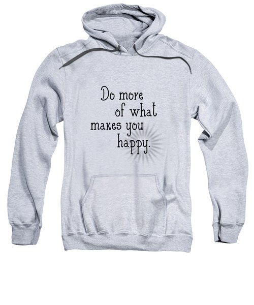 Text Art Happy Sweatshirt