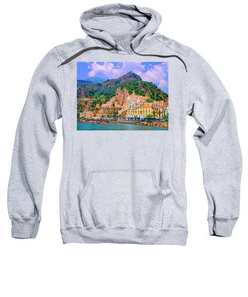 Harbor At Amalfi Sweatshirt